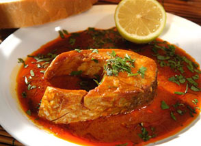 Spicy Sephardic fish
