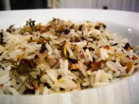 persian rice with pistachios